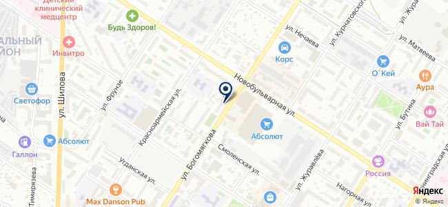 Чита-Мото на карте