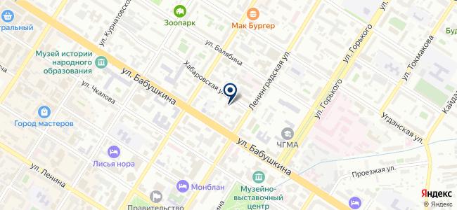Социальная служба бытового сервиса на карте