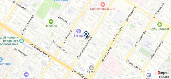 Магазин электроники на карте
