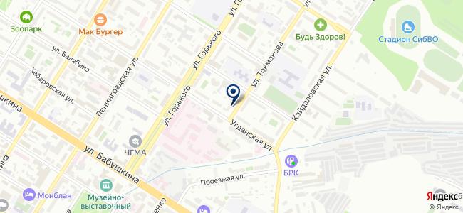 БайкалТехСтрой, ООО на карте