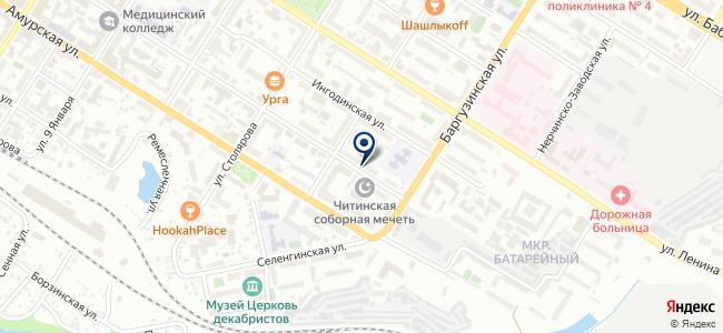 Север, ООО на карте