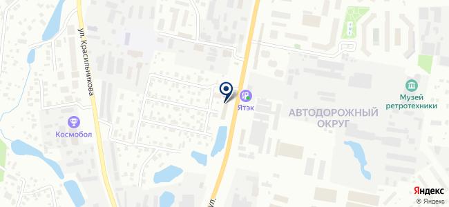 Газовик+ на карте