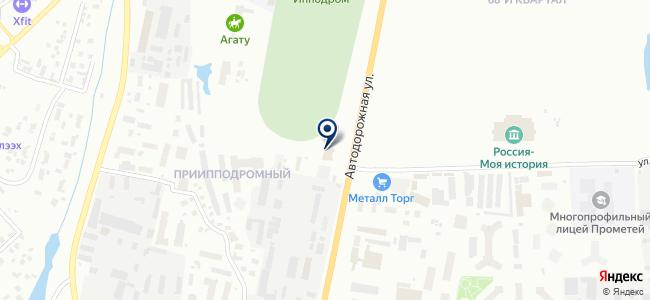 Планета Электро на карте