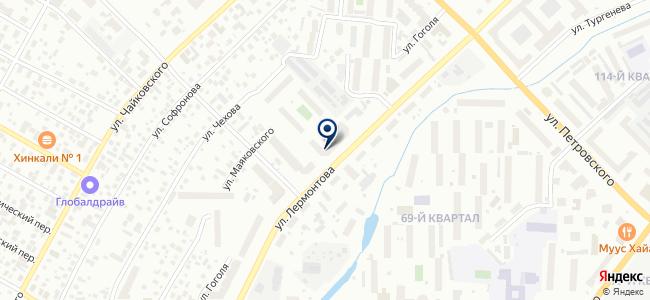 Востоктехторг, ЗАО на карте