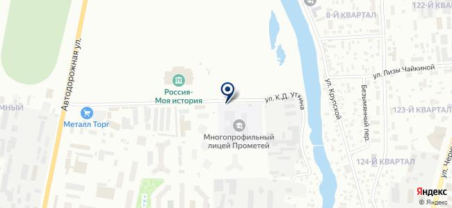 Якутгазстрой, ООО на карте