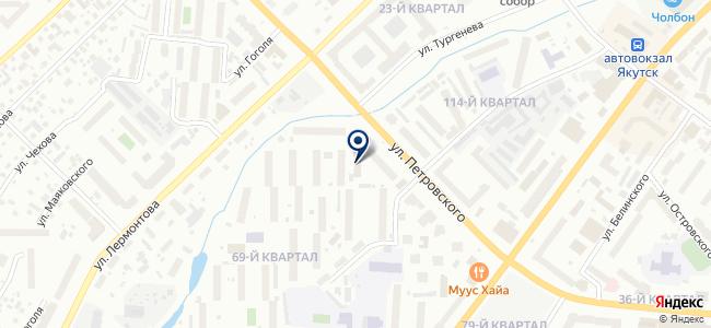 ЯкутЭнергоСтрой, ООО на карте