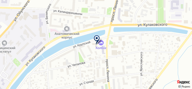 Монтажная компания на карте
