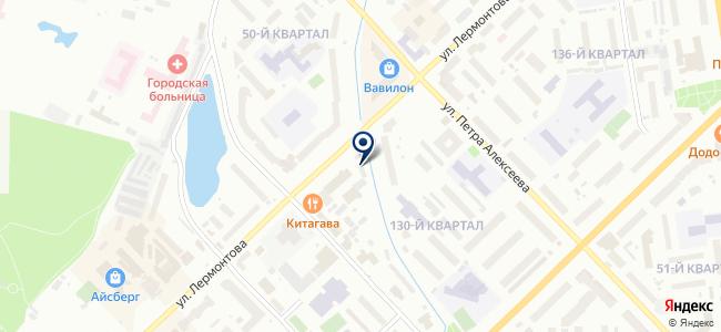 Дисплей-Авто на карте