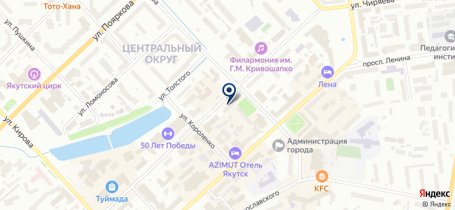 СахаАльянсСтрой на карте