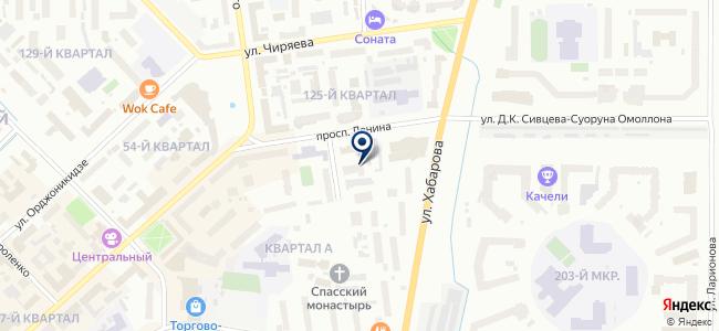 Якутск на карте