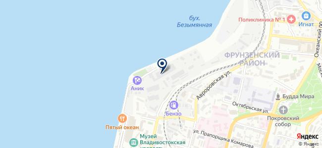 Дальэнергоэкспертиза, ЗАО на карте