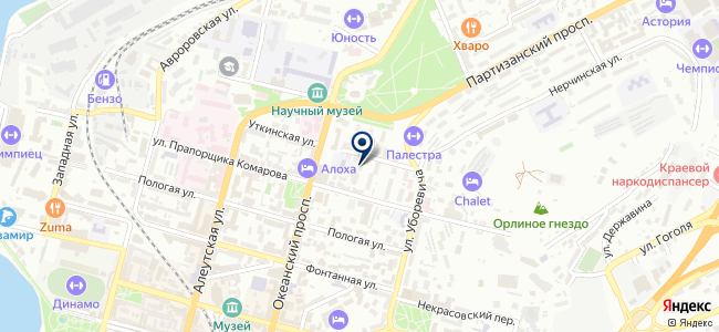 КОМЭН Владивосток, ООО на карте