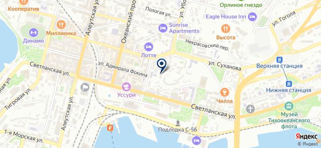 Дальтехэнерго, ОАО на карте