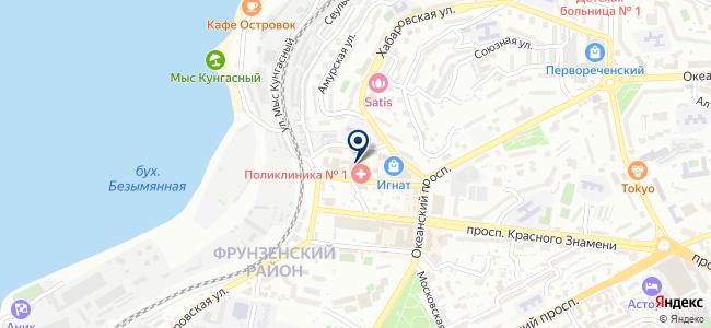 Дальневосточная лаборатория, ООО на карте