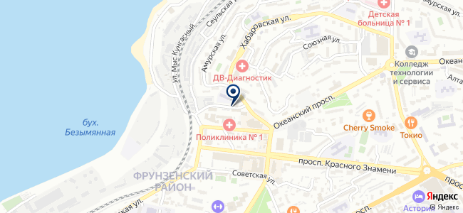 Охрана, ЗАО на карте