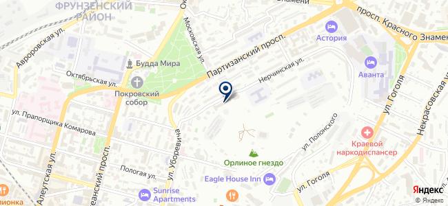 Сервер-Центр на карте