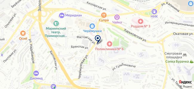 Вереск на карте