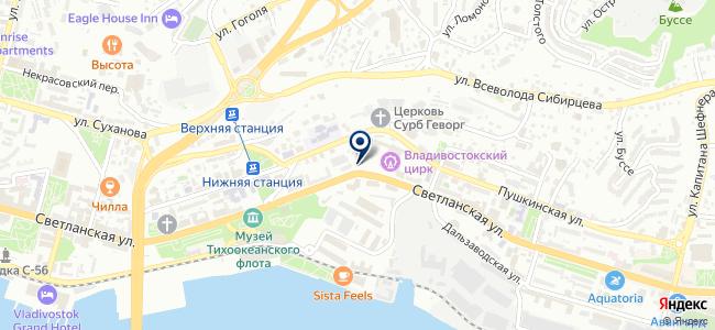 Абастон на карте