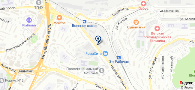 Росби-ДВ, ООО на карте