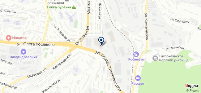 Сервис-ВЛ на карте