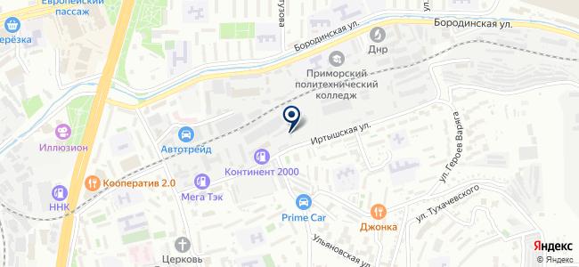 Энергокомплект ДВ, ООО на карте