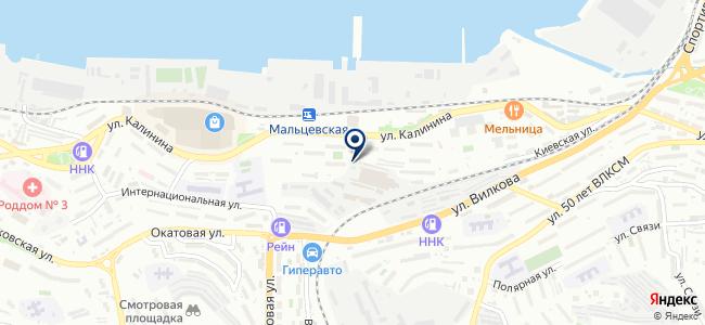 Daewoo Enertec на карте