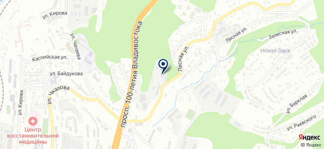 ДВЭСК на карте