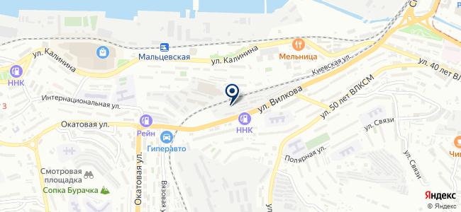 EFI-центр на карте