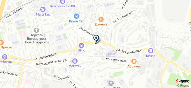 Магазин сантехники и электротоваров на карте