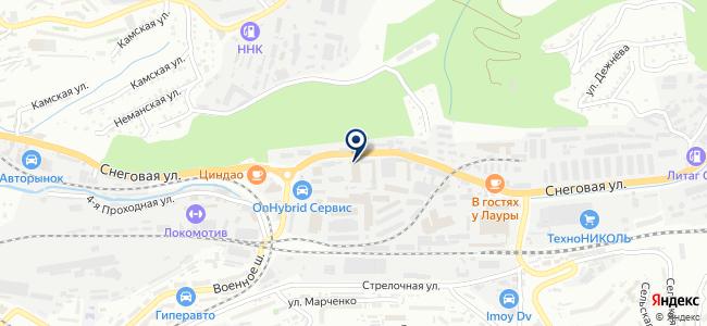 Фокус, ООО на карте