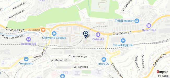 Анкер-ДВ на карте
