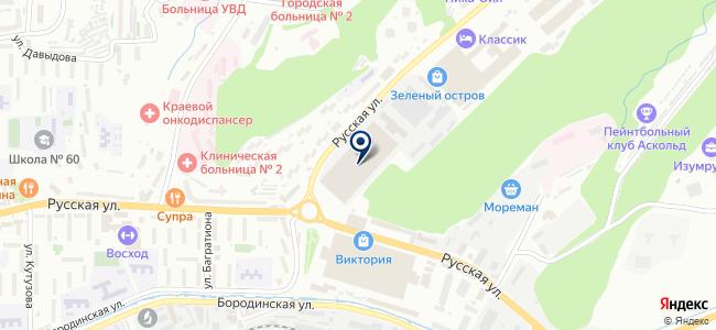 Изумруд, ОАО на карте