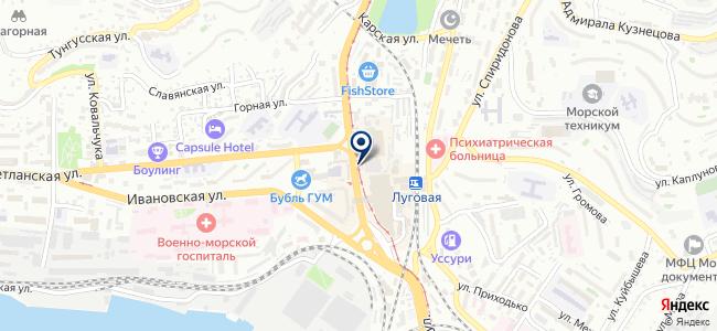 Сферастрой на карте
