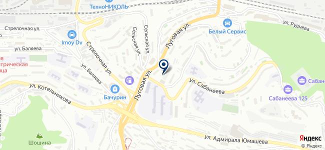 Поставщик ДВ на карте