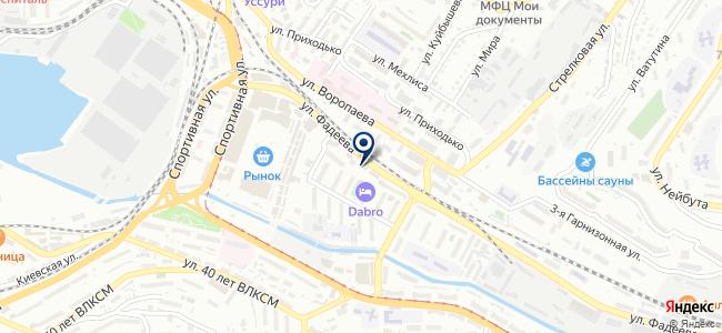 Владналадка, ООО на карте