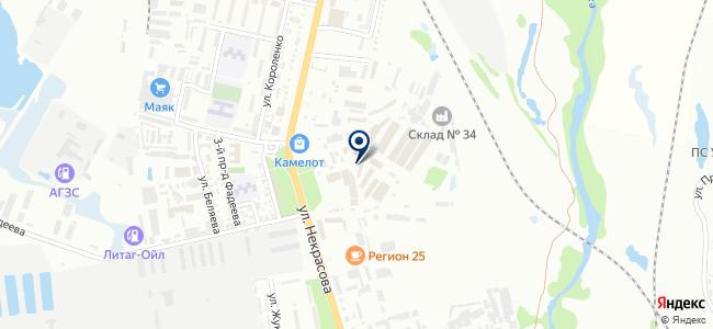 ХозМарт на карте