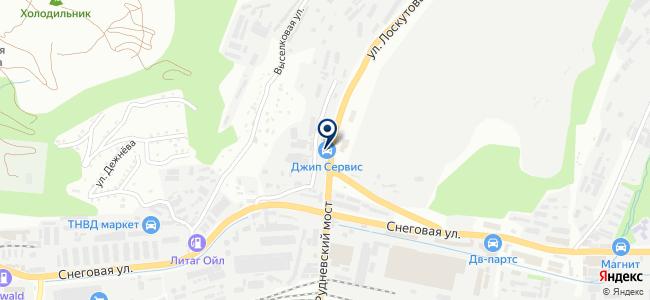 Джип Сервис на карте