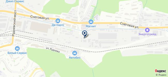 ТракСервис на карте