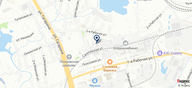 Светоч, ООО на карте