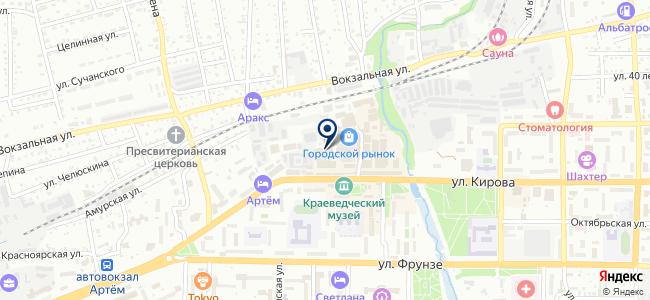 Интер+ на карте
