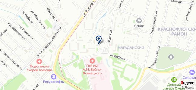 Хабаровская ремонтно-монтажная компания, ОАО на карте
