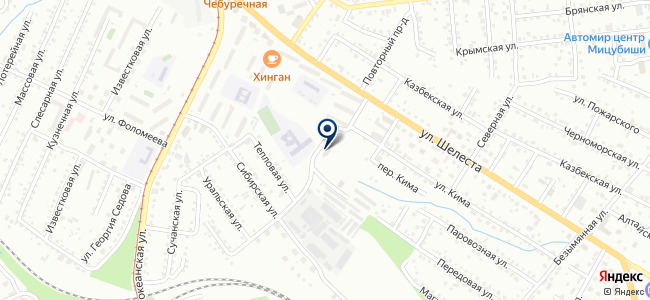 GNSS VOSTOK на карте