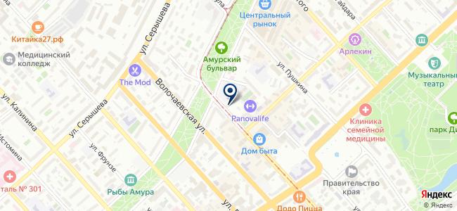 Восток Групп ДВ, ООО, торговая компания на карте