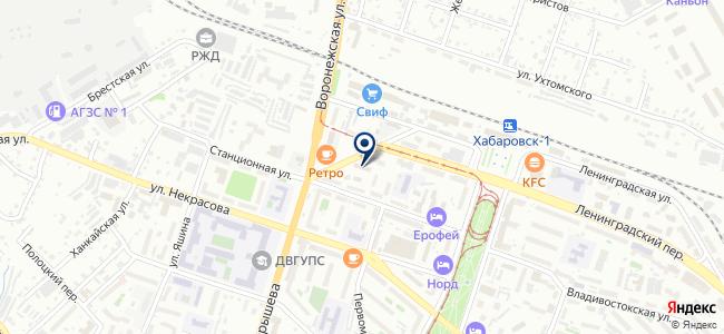 Акватика, ООО на карте
