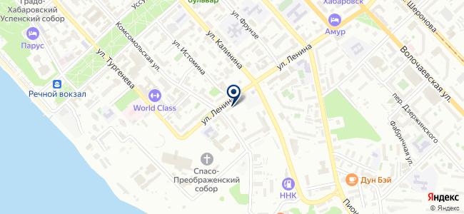 Дальэнергомонтаж, ООО на карте