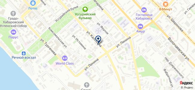 Штрих-код на карте