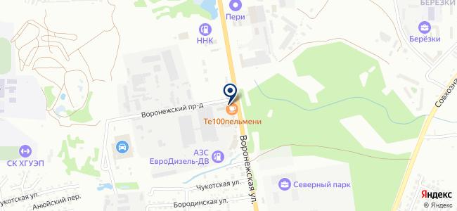 Анкоми на карте