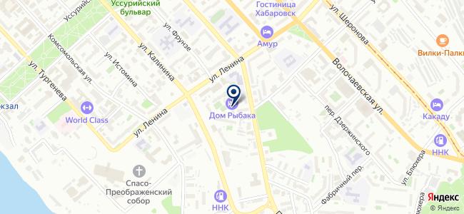 СпецТрэйд Хабаровск, ООО на карте