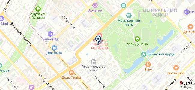 Электростиль-Хабаровск на карте