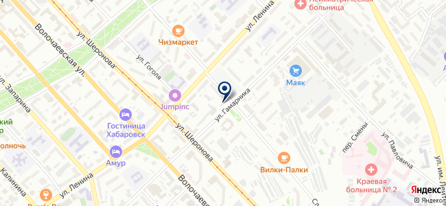 Апартамент на карте